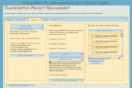 Collaboration in Project Management